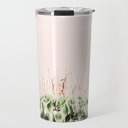 Cactus on pink Travel Mug