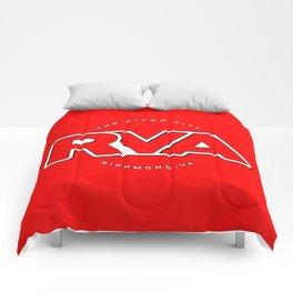 "Rva Logo - Red   "" The River City "" Comforters"