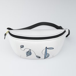 Organic Lines Fanny Pack