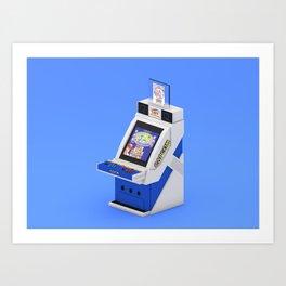 Capcom Q25 Art Print