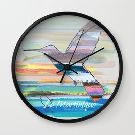La Martinique Wall Clock