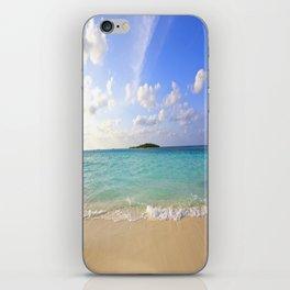 Maldives Beach iPhone Skin