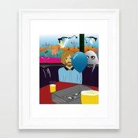 dylan Framed Art Prints featuring Dylan by LylaLovitt