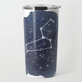 leo constellation zodiac Travel Mug