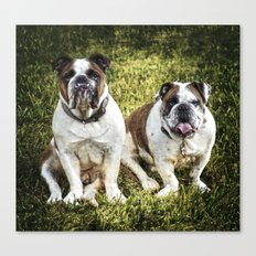 Fred and Ethel Canvas Print