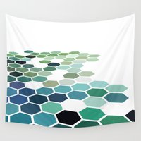 colorado Wall Tapestries featuring Colorado by Bakmann Art