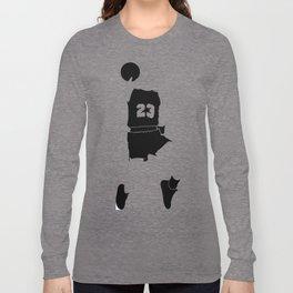 Faceless Basketball MJ Jordan Long Sleeve T-shirt