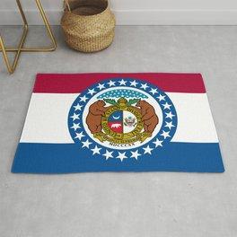 Flag of Missouri Rug