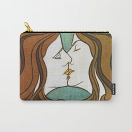 The Kiss circa 1898 Carry-All Pouch