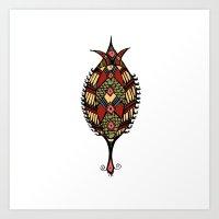 BORNEO TIC Art Print