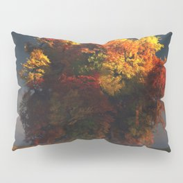 Red and Gold Pillow Sham