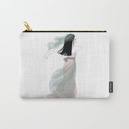 Bridal Collection - Bride In The Wind Carry-All Pouch
