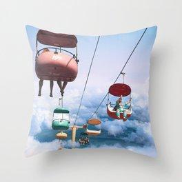skyglider Throw Pillow