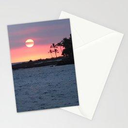 Kona Sunset Stationery Cards