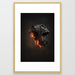 XTINCT x Monkey Framed Art Print