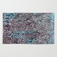 Snow Pines(Blue) Rug