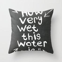 L. Frank Baum quote Throw Pillow