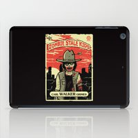grimes iPad Cases featuring Walker Grimes by Stationjack
