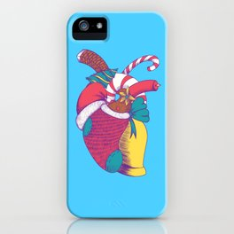 Christmas Heart iPhone Case
