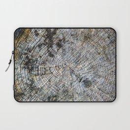 Old Tree Rings Laptop Sleeve