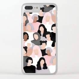 All of us Clear iPhone Case