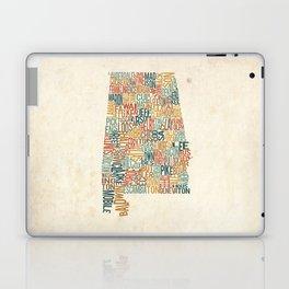 Alabama by County Laptop & iPad Skin