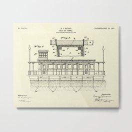 Boat or Vessel-1903 Metal Print