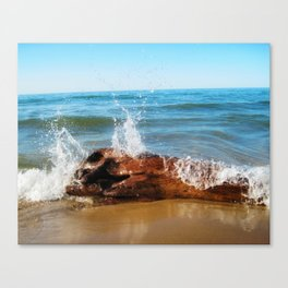 Lake Michigan (01) Canvas Print