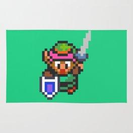 Pixelated Link - Zelda: Link to The Past Rug