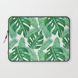 Tropical Leaf Pattern Laptop Sleeve