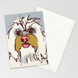 Lulz - blue/oker Stationery Cards