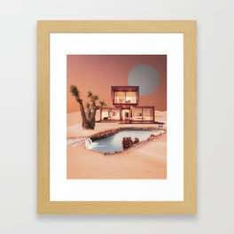 Villa Framed Art Print