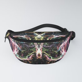 Radiant lighting butterfly Fanny Pack