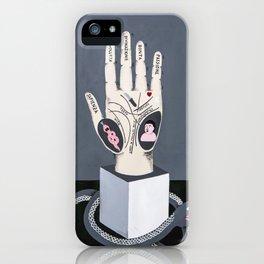 Mano iPhone Case