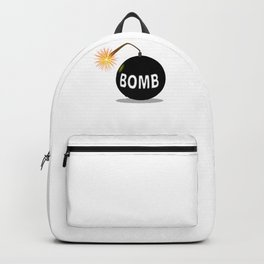 Cartoon Bomb Backpack