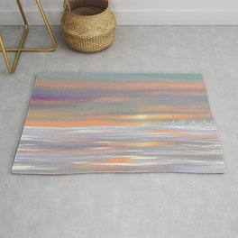 Picture sunset Rug