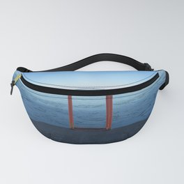 Lake Michigan in Winter, Chicago Fanny Pack