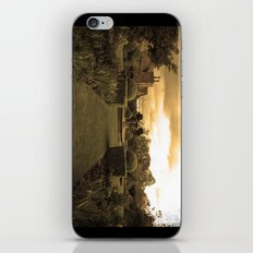 sepia cottage iPhone & iPod Skin