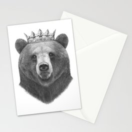 King bear Stationery Cards