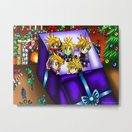 Christmas Artwork #13 (2017) Metal Print