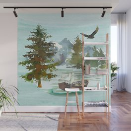 Forest Scenery Landscape Wall Mural
