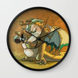 It was a rough knight. Wall Clock