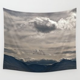 Clouds rolling over Wall Tapestry