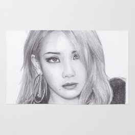 Chaelin Lee CL from 2ne1 Rug