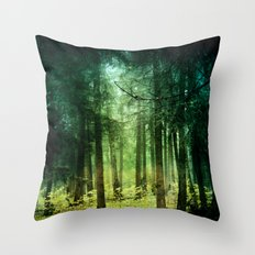 Enchanted light Throw Pillow