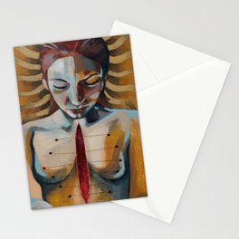 Anahata, The Unstruck Chord Stationery Cards