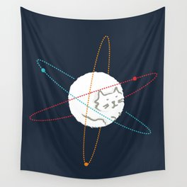 Cat-ion Wall Tapestry