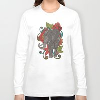 ruby Long Sleeve T-shirts featuring Ruby by Valentina Harper