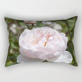 Pink Cabbage Rose Rectangular Pillow