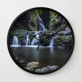 Elabana Falls in the Gold Coast Hinterlands Wall Clock